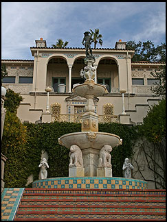 Guest mansion, Hearst Castle