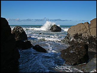 Moonstone Beach, Cambria
