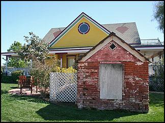 Yellow cottage